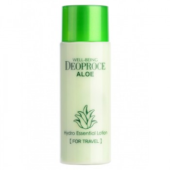 Лосьон для лица  с экстрактом алоэ WELL-BEING DEOPROCE ALOE HYDRO ESSENTIAL LOTION