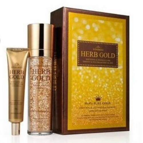 Набор антивозрастной ESTHEROCE HERB GOLD WHITENING & WRINKLE CARE ESSENCE & EYE CREAM SPECIAL SET