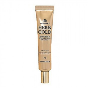 Крем для век омолаживающий ESTHEROCE HERB GOLD WHITENING & WRINKLE CARE EYE CREAM