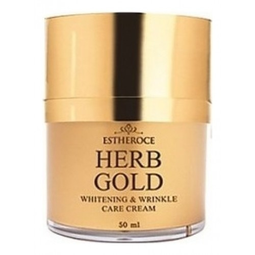 Крем для лица омолаживающий ESTHEROCE HERB GOLD WHITENING & WRINKLE CARE CREAM