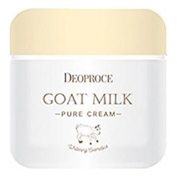 Крем для лица антивозрастной с экстрактом козьего молока goat milk pure cream