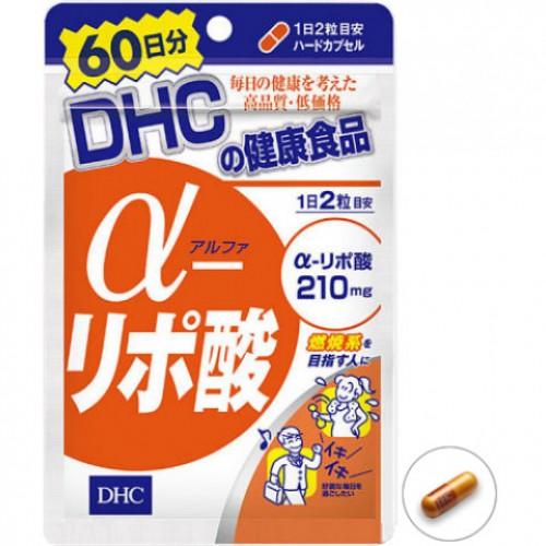 DHC Альфа липоевая кислота (120 гранул на 60 дней)
