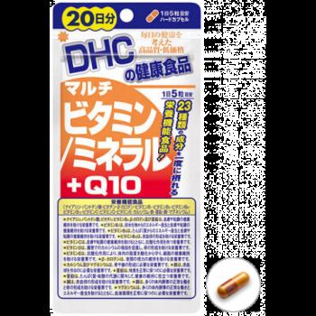 DHC Витамины Минералы и Q10