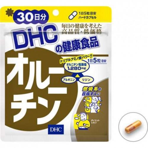 DHC Орнитин для похудения и роста мышечной массы (150 капсул на 30 дней)