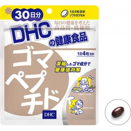 DHC Кунжутный пептид (90 капсул на 30 дней)