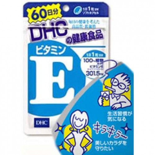 DHC Витамин E (60 гранул 60 дней)
