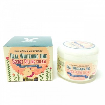 Крем для лица Эффект Пилинга Real Whitening Time Secret Cream