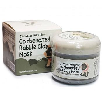 Маска для лица очищающая пузырьковая  с глиной Сarbonate Bubble Clay Mask