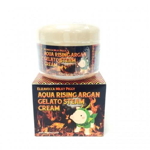 Крем паровой для лица Аргановое масло Aqua Rising Argan Gelato Steam Cream