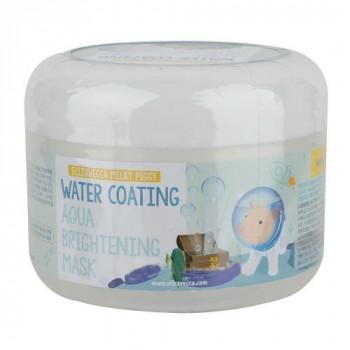Маска для лица Увлажнение Water Coating Aqua Brightening Mask