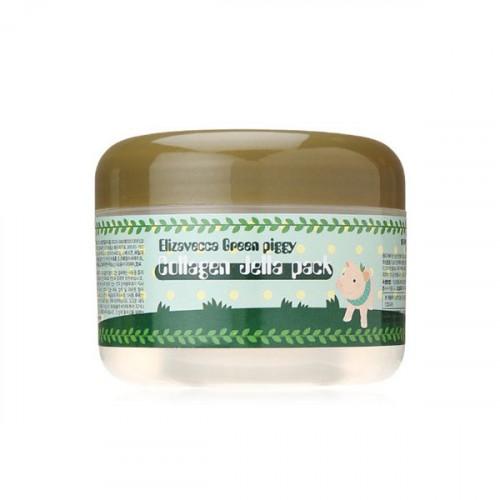 Маска для лица желейная с коллагеном ЛифтингGreen Piggy Collagen Jella Pack