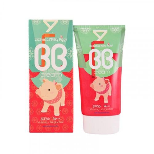 BB крем для лица Увлажняющий Milky Piggy BB Cream SPF50