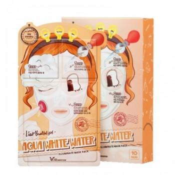 Маска трехэтапная Увлажняющая 3-step Aqua White Water Illuminate Mask Sheet, 10 шт