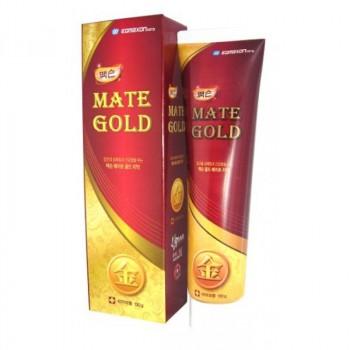 Зубная паста – гель с частицами золота