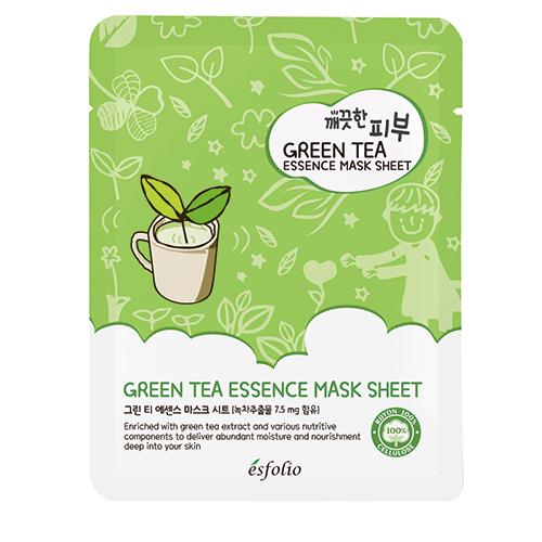 Маска для лица Зеленый чай
