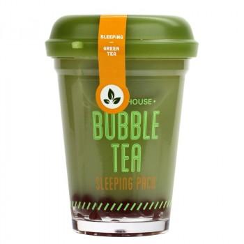 Маска ночная для лица с экстрактом зеленого чая Bubble Tea Sleeping Pack Green Tea
