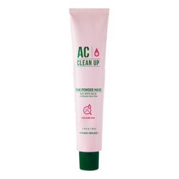Маска для проблемной кожи с розовой глиной AC Clean Up Pink Powder Mask
