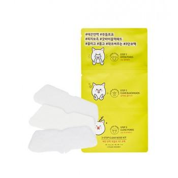 Набор для удаления черных точек 3 Step Clear Nose Kit