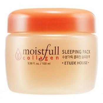 Маска для лица ночная с коллагеном Moistfull Collagen Sleeping Pack