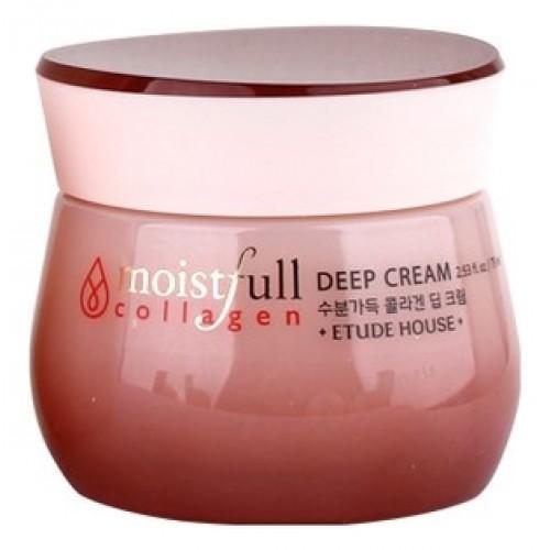 Крем для лица увлажняющий с коллагеном Moistfull Super Collagen Deep Cream