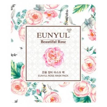 Маска для лица с экстрактом розы, 30 мл, EUNYUL