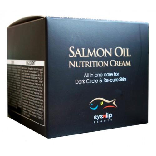 Крем для лица с лососевым маслом SALMON OIL NUTRITION CREAM