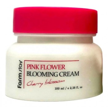 Крем для лица с экстрактом цветов вишни, 100 мл, Farmstay