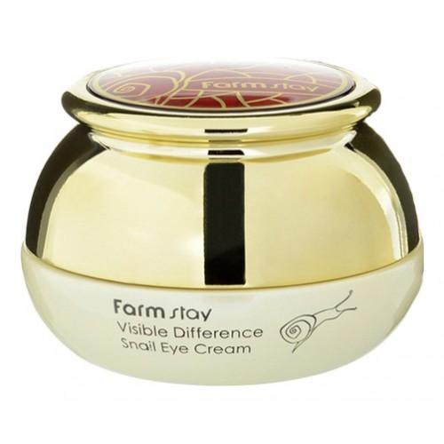 Крем для глаз с экстрактом улитки, 50 гр, FarmStay