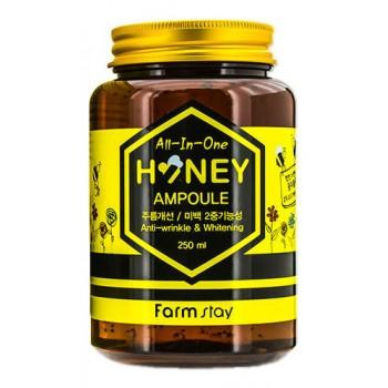 Многофункциональная ампульная сыворотка с медом, 250 мл, FarmStay