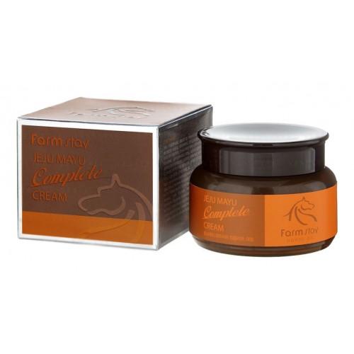 Крем с лошадиным маслом для сухой кожи, 100гр, FarmStay