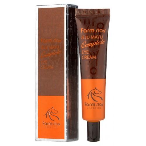 Крем для глаз с лошадиным маслом для сухой кожи, 45гр, FarmStay