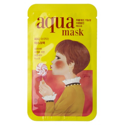 Маска для лица тканевая антивозрастная FRILE Tina Aqua Mask