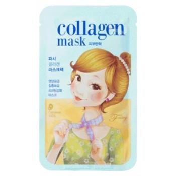 Маска для лица тканевая SCARF Tina Collagen Mask