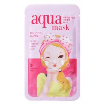 Маска для лица тканевая BUBBLE Tina Aqua Mask
