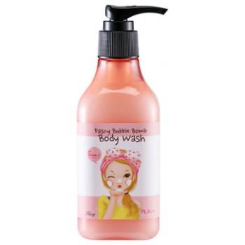 Гель для душа персиковый Bubble Bomb Body Wash Peach