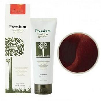 Маникюр для волос (красно-коричневый) Haken Premium Pearll Pure Gel Color-Chestnut Brown Red