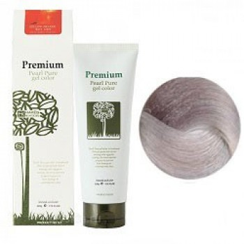 Маникюр для волос (пепельный) Haken Premium Pearll Pure Gel Color- Sparkling ash gray