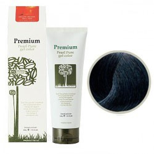 Маникюр для волос (черный) Haken Premium Pearll Pure Gel Color-Charcoal Black