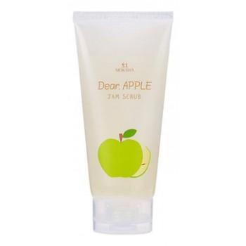 Скраб для лица яблочный Dear apple scrub