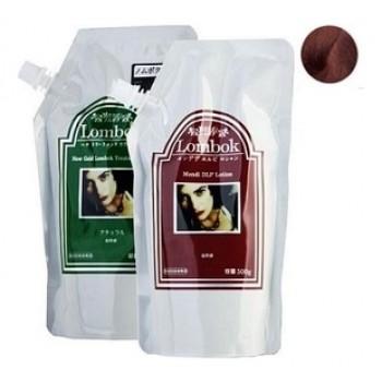 Система для ламинирования волос Mahogana Brown Lombok Original set Mahogana Brown