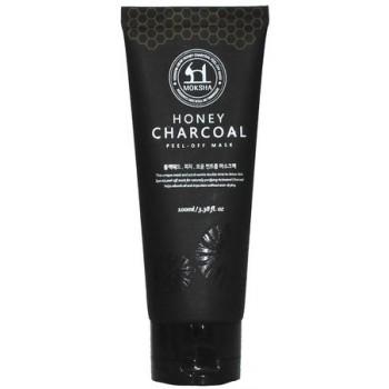 Маска-пленка для лица Moksha Honey Charcoal peel-off mask