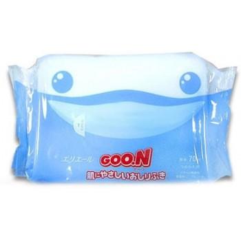 Влажные салфетки для малышей GOON запасной блок 70 шт