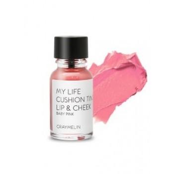 Тинт для губ и щек оттенок baby pink