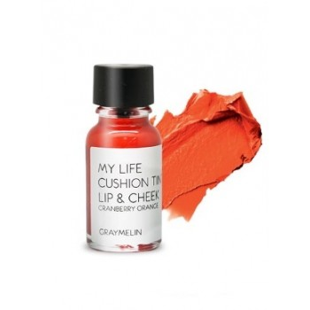 Тинт для губ и щек оттенок cranberry orange