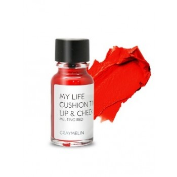 Тинт для губ и щек оттенок melting red