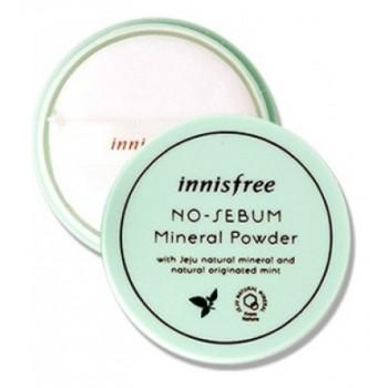 Пудра минеральная для жирной кожи NOSEBUM MINERAL POWDER