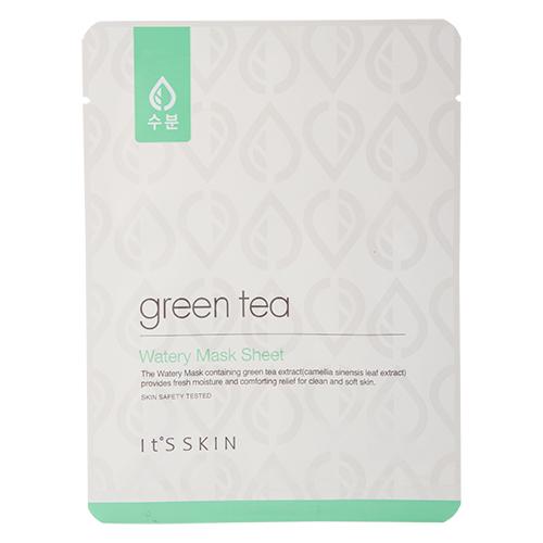 Маска для лица c зеленым чаем