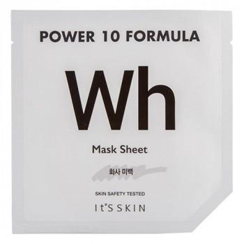 Маска для лица POWER 10 FORMULA WH отбеливающая