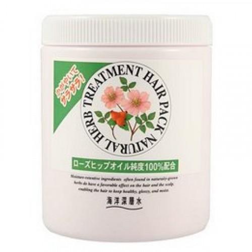 Маска на основе натуральных растительных компонентов(с маслом шиповника, для нормальных волос)