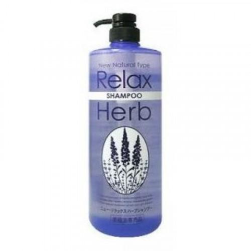 Растительный шампунь для волос с расслабляющим  эффектом (с маслом лаванды)